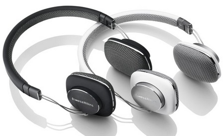 Bowers & Wilkins P3 Mobile HiFi Headphones white black