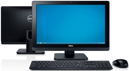 Dell Inspiron One 20 All-in-one PC front back