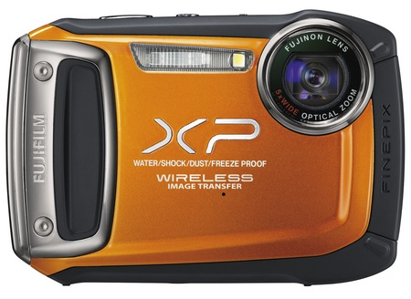 FujiFilm FinePix XP170 Rugged Camera orange