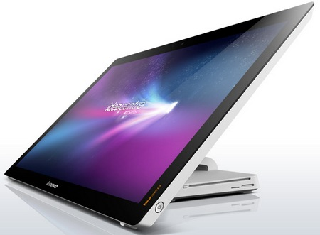 Lenovo IdeaCentre A720 Touchscreen All-in-One PC Folds Flat 1