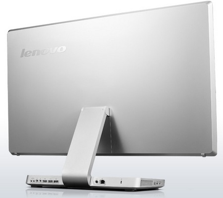 Lenovo IdeaCentre A720 Touchscreen All-in-One PC Folds Flat back