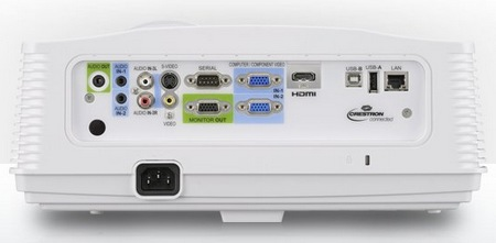 Mitsubishi WD720U and XD700U Professional DLP Projectors back