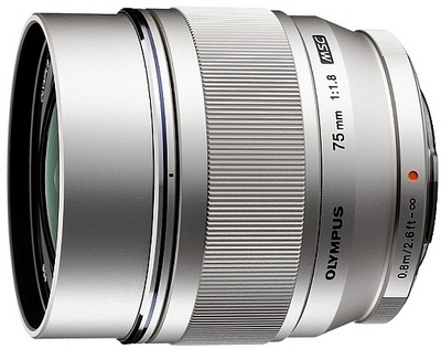 Olympus M.ZUIKO DIGITAL ED 75mm f1.8 Portrait Lens for Micro Four Thirds