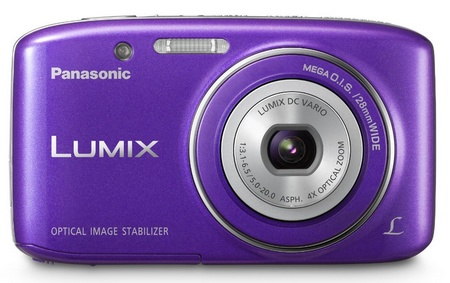 Panasonic LUMIX DMC-S2 Affordable Compact Camera violet