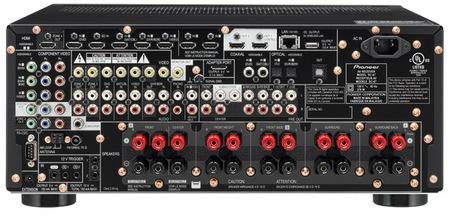 Pioneer Elite SC-65, SC-67 and SC-68 9.2-channel AV Receivers back