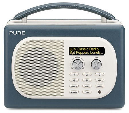 Pure Evoke Mio Digital FM Radio pepper