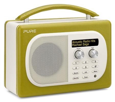Pure Evoke Mio Digital FM Radio sage