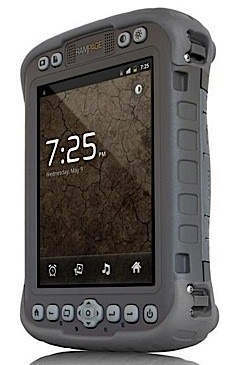 RAMPAGE 6 Mesa Rugged Notepad runs Android 2.3