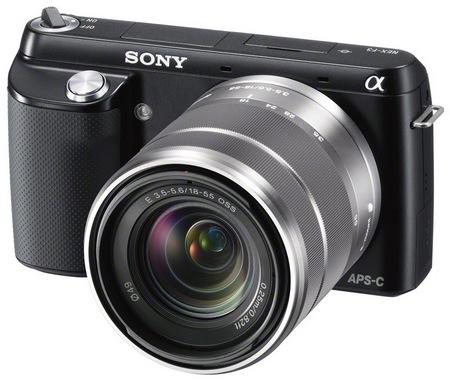 Sony Alpha NEX-F3 Mirrorless Camera