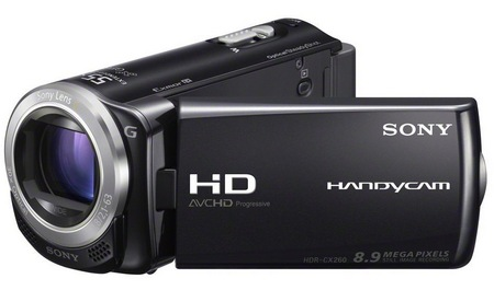Sony Handycam HDR-CX260V Full HD Camcorder 1