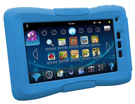 Techno Source Kurio 7 Android 4.0 Tablet for Kids with bumper