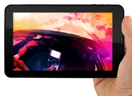 eMatic eGlide XL Pro 2 10-inch Android 4.0 Tablet on hand