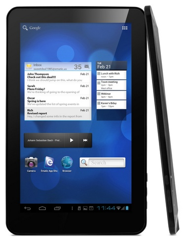 eMatic eGlide XL Pro 2 10-inch Android 4.0 Tablet