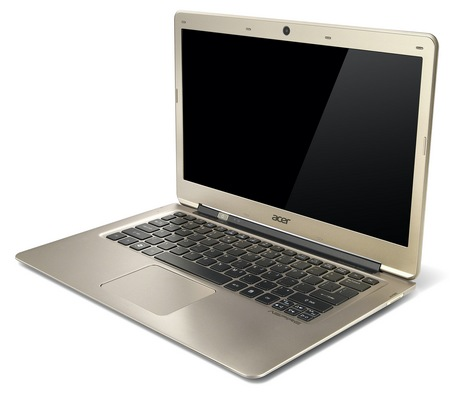 Acer Aspire S3 Ultrabook gets Ivy Bridge angle 1