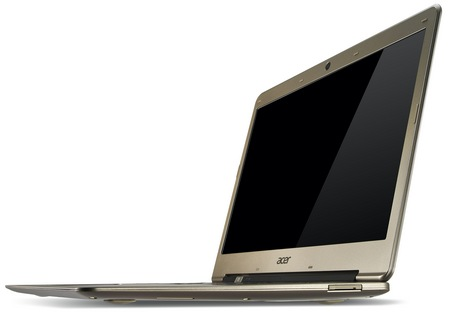 Acer Aspire S3 Ultrabook gets Ivy Bridge angle 2