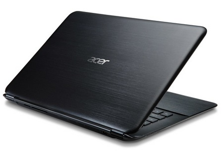 Acer Aspire S5 World's Thinnest Ultrabook lid