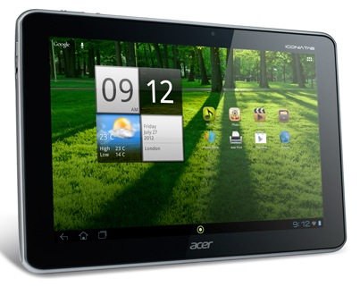 Acer Iconia Tab A700 Tegra 3-powered Tablet with Full HD Display front