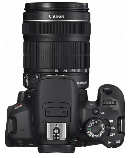 Canon EOS Rebel T4i 650D Digital SLR Camera top