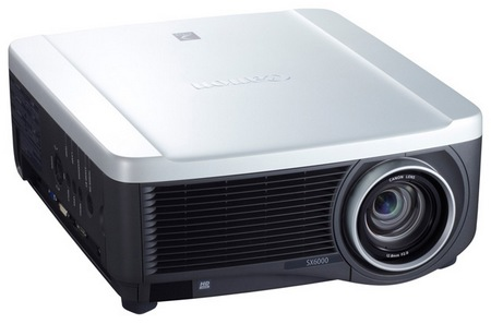 Canon REALiS SX6000 and REALiS WX6000 Pro AV Series Multimedia LCOS Projectors 1