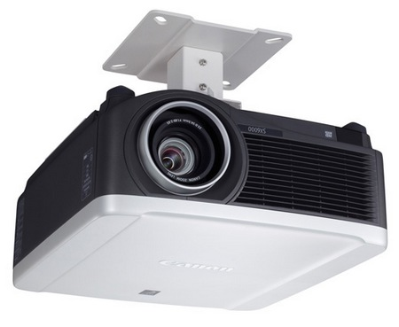 Canon REALiS SX6000 and REALiS WX6000 Pro AV Series Multimedia LCOS Projectors installation