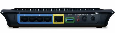 D-Link DIR-857 Dual-band HD Media Router back