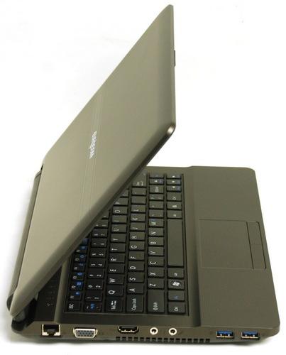Eurocom Monster Powerful Ultraportable Notebook side