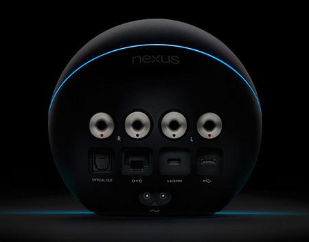 Google Nexus Q Social Streaming Media Player back