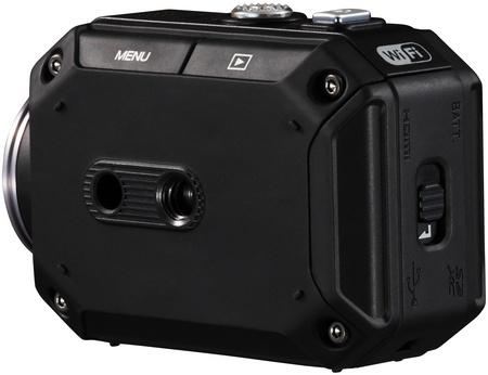 JVC ADIXXION GC-XA1 Quad-proof Rugged Action Camera tripod