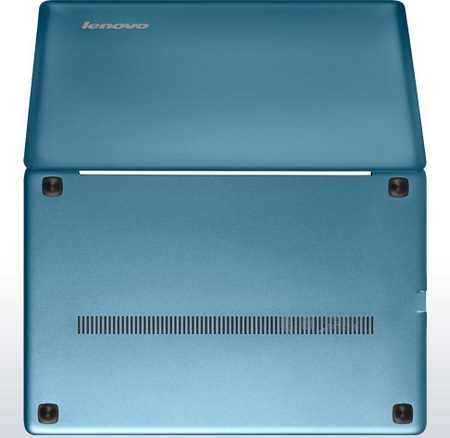 Lenovo IdeaPad U310 Ultrabook Metallic-Blue bottom