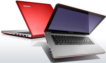 Lenovo IdeaPad U410 Ultrabook red