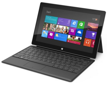 Microsoft Surface for Windows RT and Windows 8 Pro black
