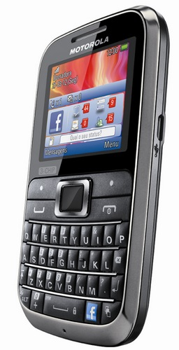 Motorola MOTOKEY 3-CHIP Triple-SIM Mobile Phone