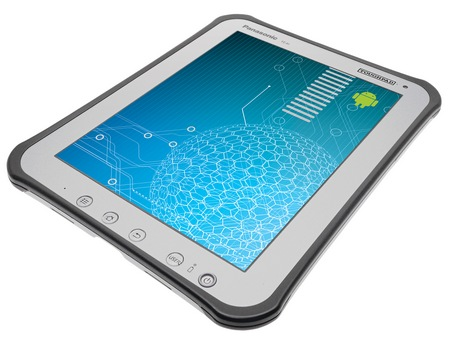 Panasonic Toughpad A1 Rugged Business Android 4.0 Tablet angle