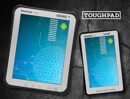 Panasonic Toughpad A1 and B1 Rugged Business Android 4.0 Tablet