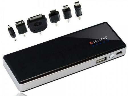 Satechi Portable Energy Station 5200mAh Portable Battery charging tips