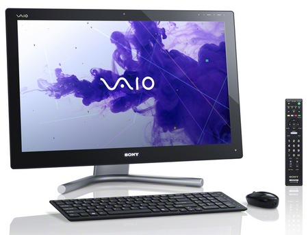 Sony VAIO L All-in-One PC with Ivy Bridge and TV Tuner