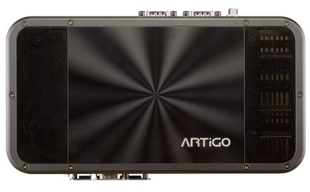 VIA ARTiGO A1200 Slim Fanless PC Kit top
