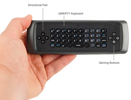 VIZIO Co-Star Google TV Stream Player remote qwerty