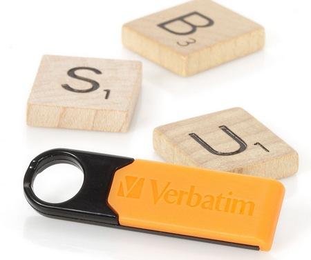 Verbatim Store n Go Micro USB Drive Plus Rugged Flash Drive orange