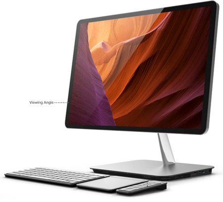 Vizio All-in-one PC gets Ivy Bridge angle 1