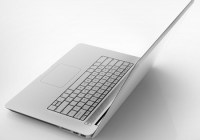 Vizio Notebook Announced with Aluminum Construction and Style angle back
