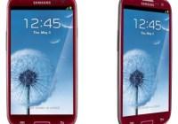 AT&T Garnet Red Samsung Galaxy S III