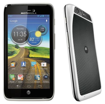 AT&T Motorola Atrix HD LTE Smartphone white