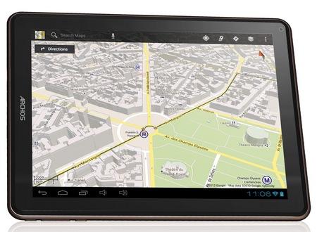 Archos ELEMENTS 97 Carbon Android Tablet maps