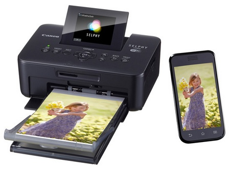 Canon SELPHY CP900 Compact Photo Printer with WiFi with phone