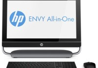 HP ENVY 23 all-in-one pc front