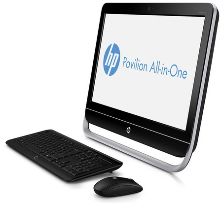 HP Pavilion 23 All-in-One PC angle