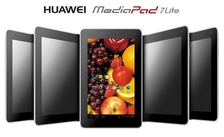 Huawei MediaPad 7Lite 7-inch Tablet eats Ice Cream Sandwich 1