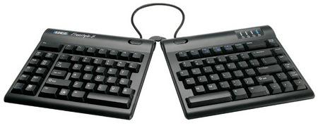 Kinesis Freestyle2 Split Keyboard pivor tether