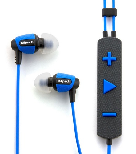 Klipsch Image S4i Rugged In-ear Headphones blue